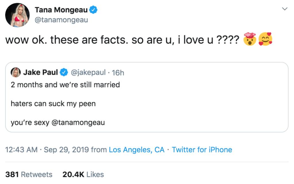 tana-mongeau-jake-paul-2-month-anniversary-tweets