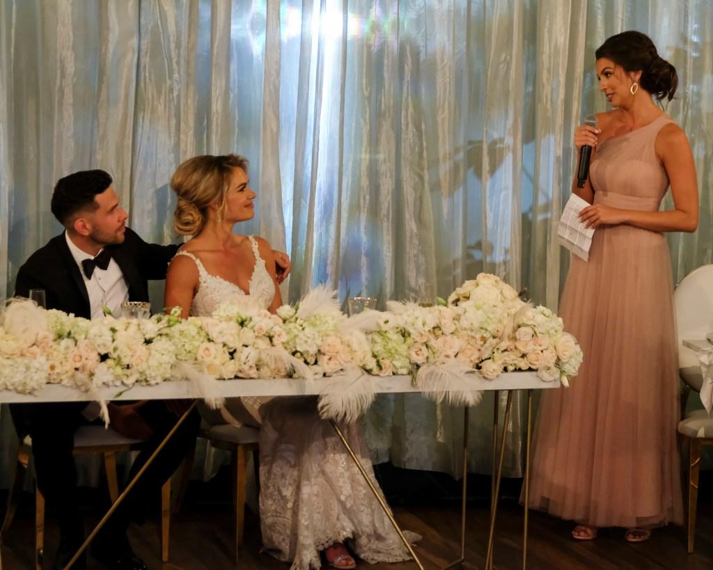 CHRIS RANDONE, KRYSTAL NIELSON, ANGELA AMEZCUA Bachelor in Paradise Wedding Friendship