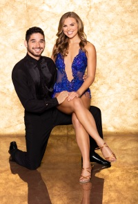 ALAN BERSTEN, HANNAH BROWN DWTS Cast Photo