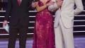 TOM BERGERON, HANNAH BROWN, ALAN BERSTEN Judging During Week 3 of Dancing With the Stars Rumba to Wilson Philips