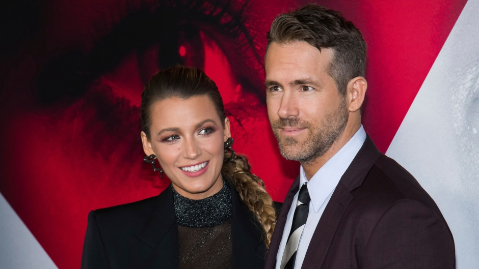 Blake Lively and Ryan Reynolds at the World Premiere of 'A Simple Favor'
