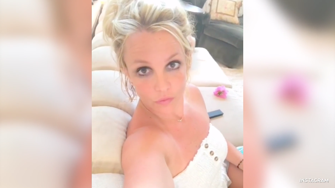 Back to Blonde! Britney Spears Flaunts Her Lighter 'Do on Instagram: 'It's Real'