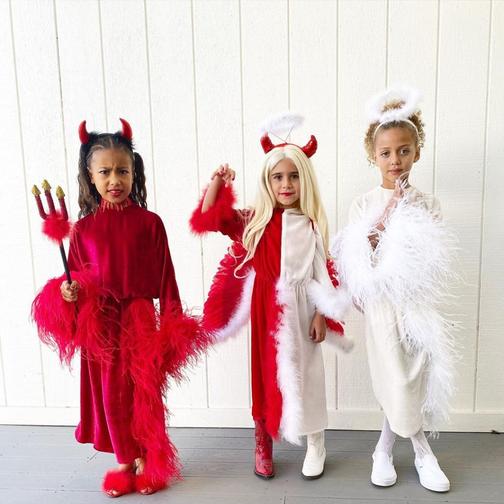 Celebrity Kids Halloween Costumes 2019, North West, Penelope Disick