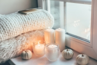 There's nothing more cozy than lighting up a yummy-smelling candle on a cool night. Right now, we're crushing on Hillhouse Naturals: The Harvest Collection. Not only are the candles themselves oh-so Instagrammable, but they also smell like you baked a pie ... without actually having to bake. We call that a win!