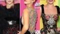 Christina Aguilera Victoria Justice Lea Michele amfAR gala