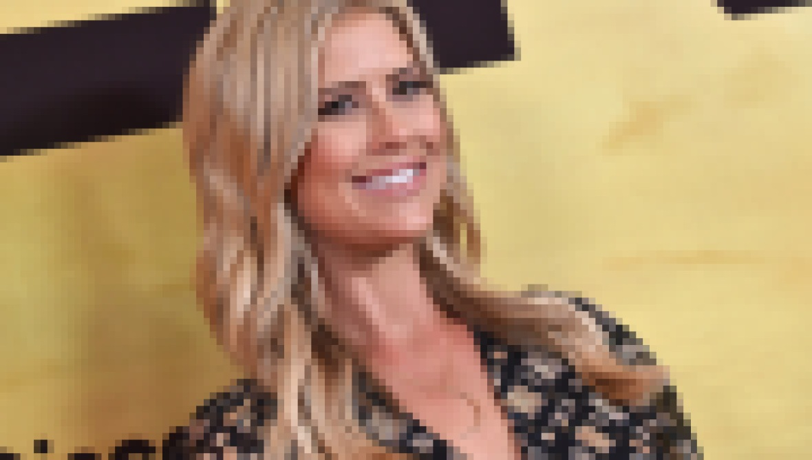 Christina Anstead at the 'Serengeti' TV Show Premiere