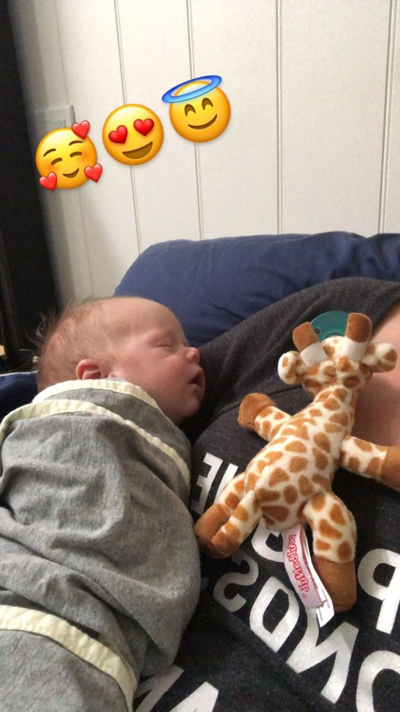 'Flip or Flop' Star Christina Anstead Calls Son Her 'Cuddle Buddy' on His 1-Month Birthday