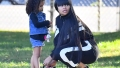 Dream Kardashian Blac Chyna Cheer King Cairo During Soccer Game