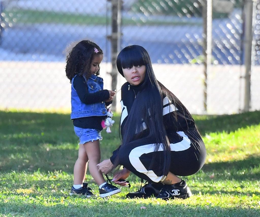 Dream Kardashian at Brother King Cairo's Soccer Game