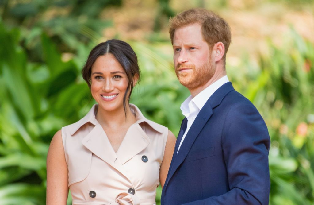 Duchess Meghan and Prince harry During Royal Tour
