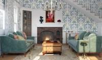 Gilmore Girls Inspired Interiors Emily Living Room