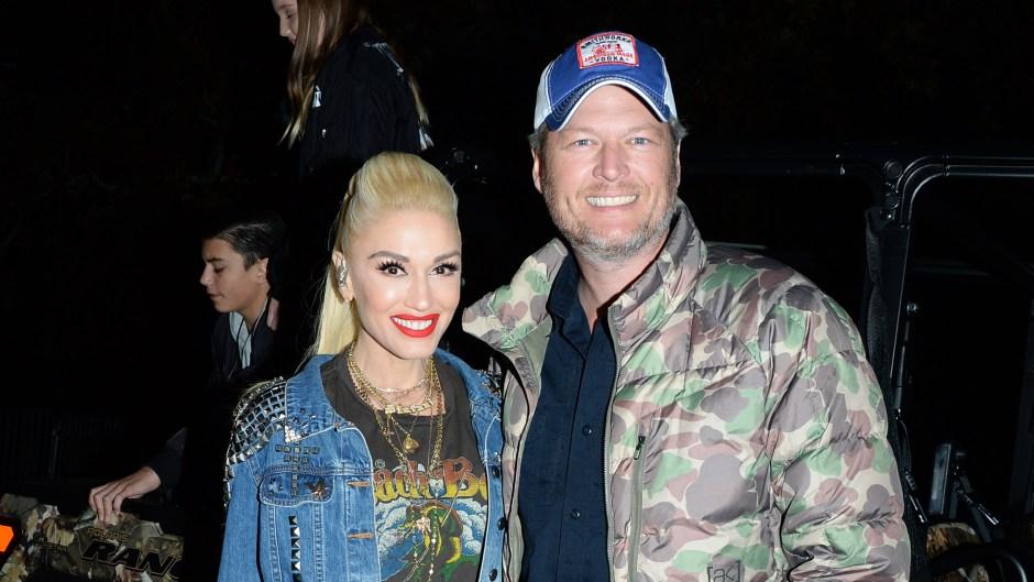 Gwen Stefani and Blake Shelton at the One Love Malibu Festival