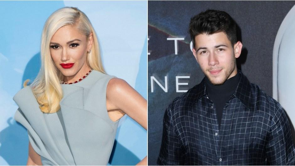 Gwen Stefani and Nick Jonas