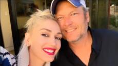 Gwen Stefani and Blake Shelton During Their Getaway