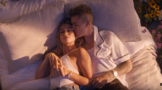 Justin Bieber and Hailey Baldwin in '10,000 Hours' Music Video
