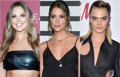 A Split Image of Hannah Brown, Ashley Benson and Cara Delevingne, Hannah Brown Gushes Over the Trio's Friendship