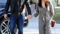 Jenna Dewan Steve Kazee PDA L.A. Stroll
