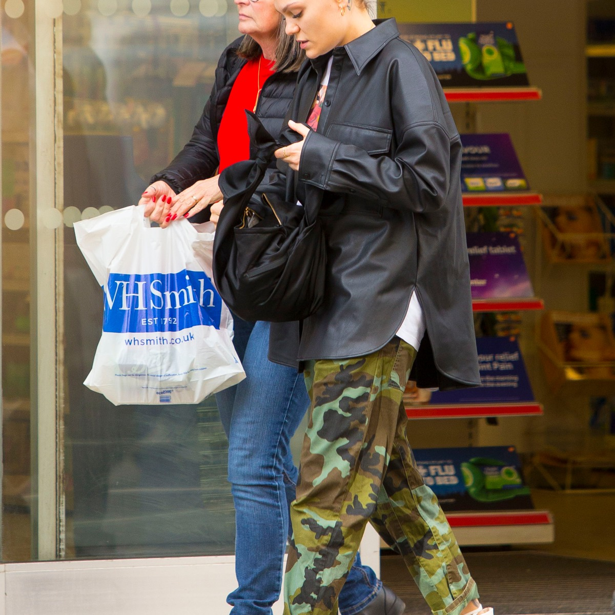 Jessie J Steps Out in London with a Fresh Face and Trendy Outfit — See Photos!