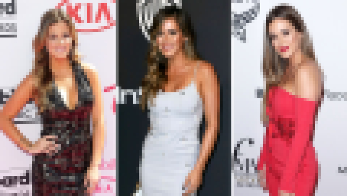 JoJo Fletcher Best Fashion Moments Red Carpet Arrival Posed