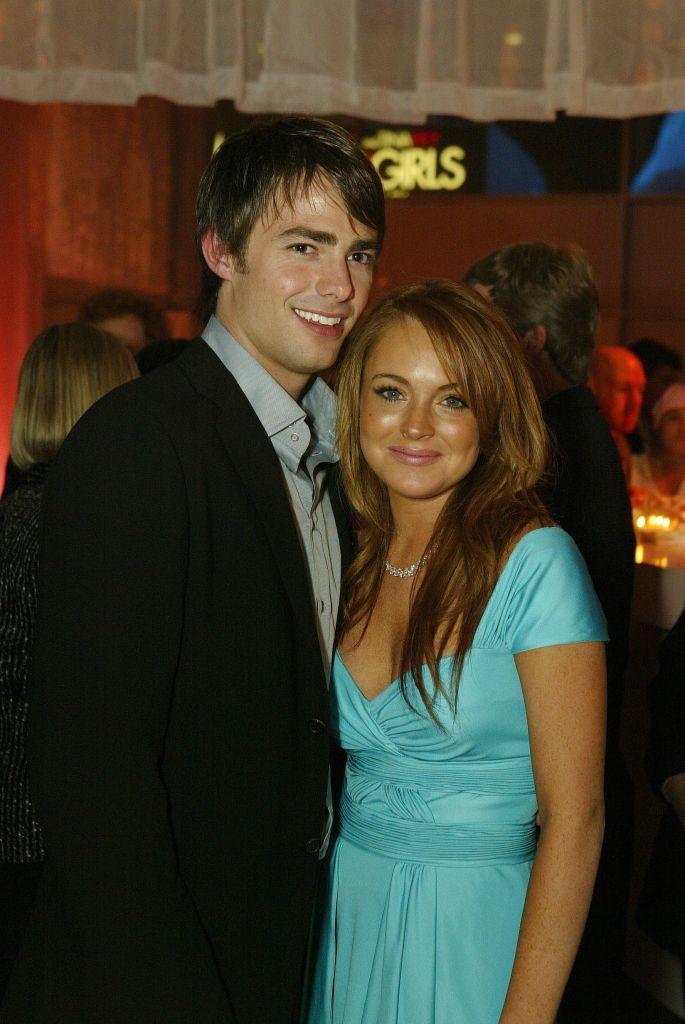 Jonathan Bennett and Lindsay Lohan in 2004