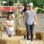 Kendra Wilkinson Picks Pumpkins With Her Kids in Woodland Hills