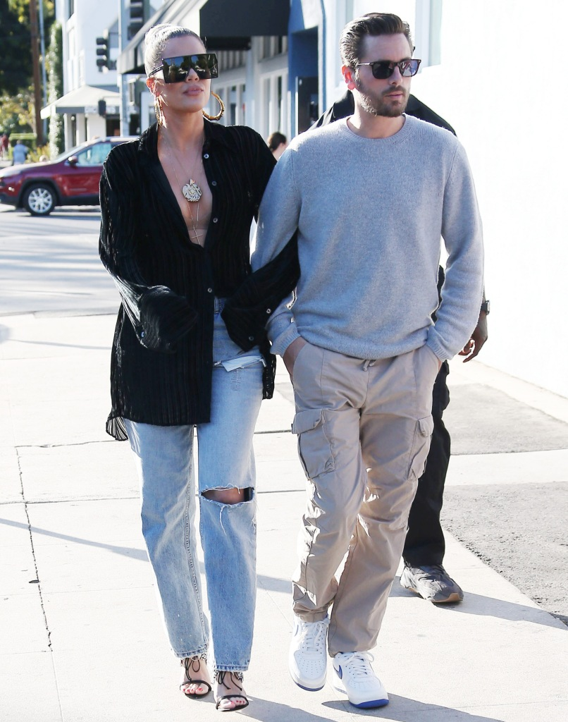 Khloe Kardashian and Scott Disick Walking Arm in Arm in 2019, Scott Disick is 'Extremely Protective' Over Khloe Kardashian
