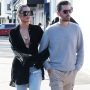 Khloe Kardashian and Scott Disick out and about in Calabasas