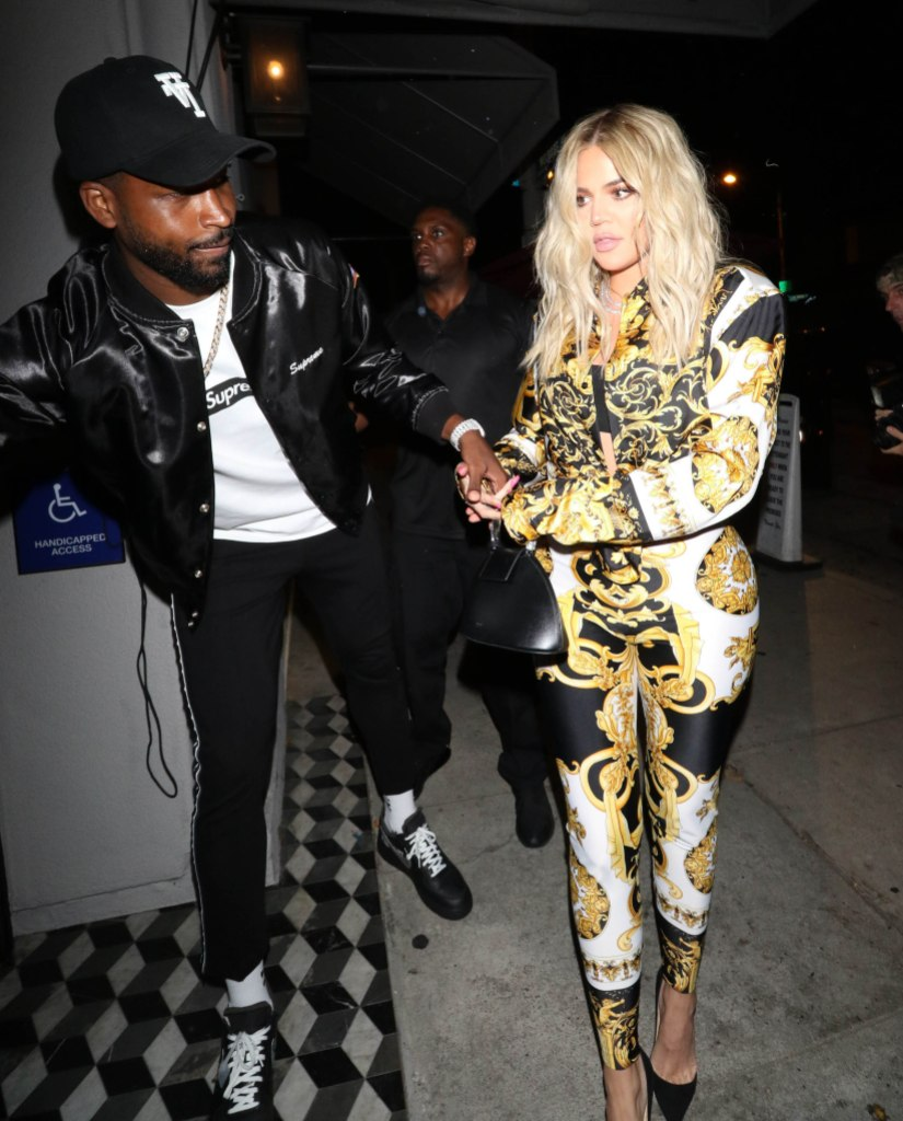 Khloe Kardashian Walking With Her Ex Tristan Thompson, Khloe Says She's Not Interested in Dating Right Now
