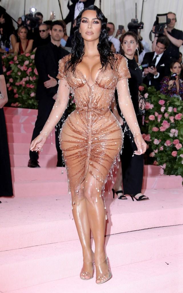 Kim Kardashian Claps Back Kanye West Met Gala Look Too Sexy
