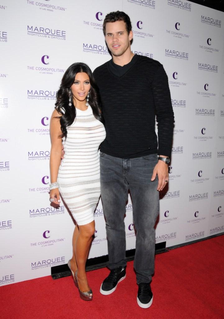 Kim Kardashian and now-ex-husband Kris Humphries in 2011