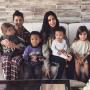 Kim and Kourtney Kardashians With Kids