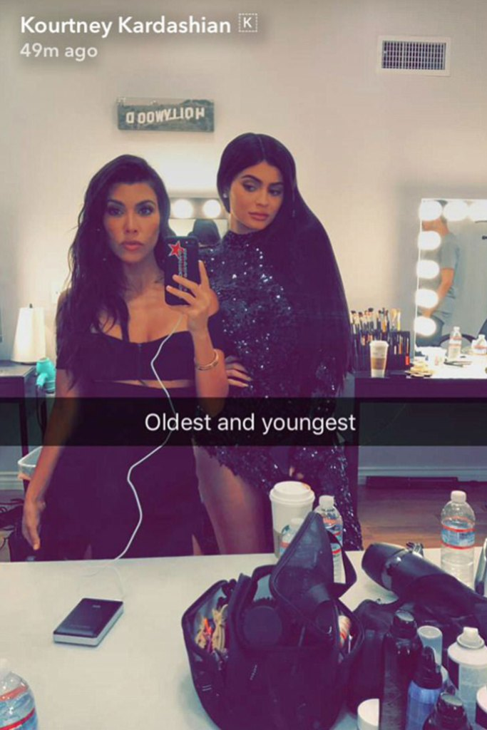 Kourtney Kardashian Get Spooky By Singing Kylie Jenner's 'Rise and Shine' at Halloween Event