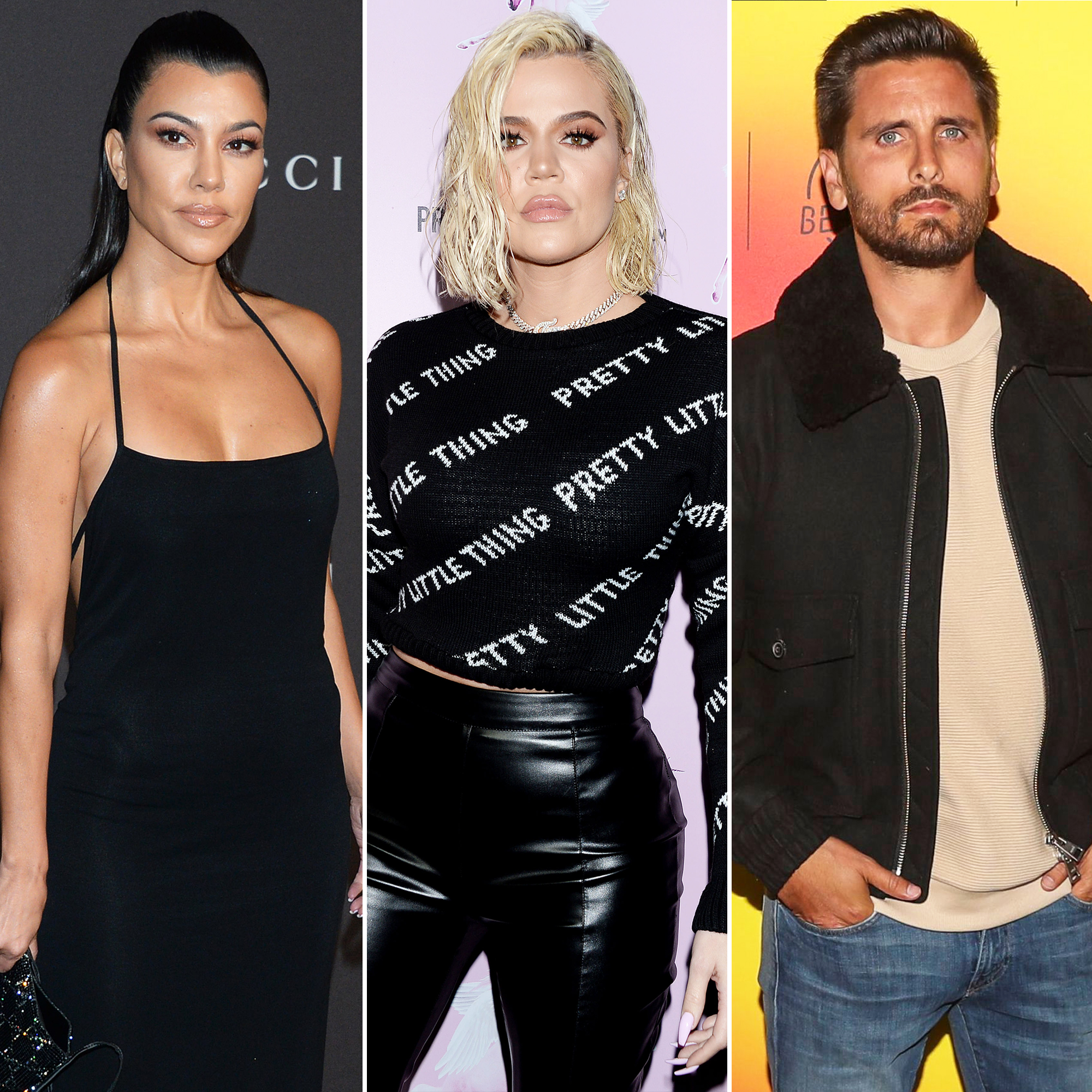 Kourtney Kardashian 'Feels Excluded' When Khloé and Scott Hang Out But Is 'Happy They're So Close'