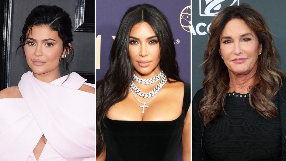 Kylie Jenner Kim Kardashian Wish Caitlyn Jenner a Happy 70th Birthday Amid Family Rift