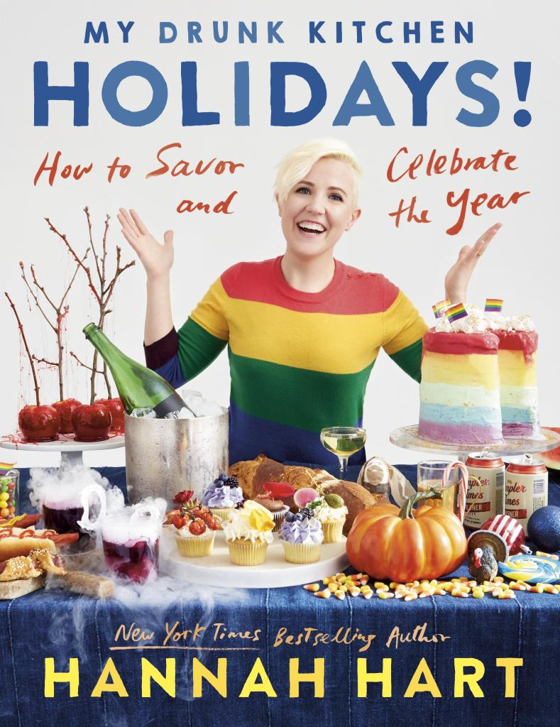 My Drunk Kitchen Holidays Book Cover