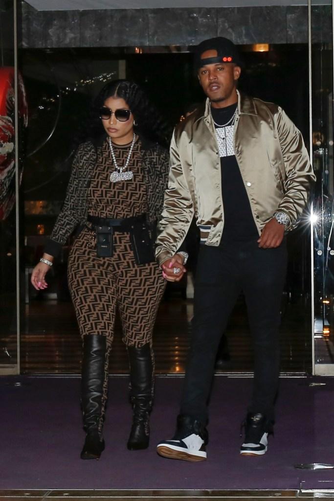 Nicki Minaj Kenneth Petty leaving their hotel in Paris Married on October 21