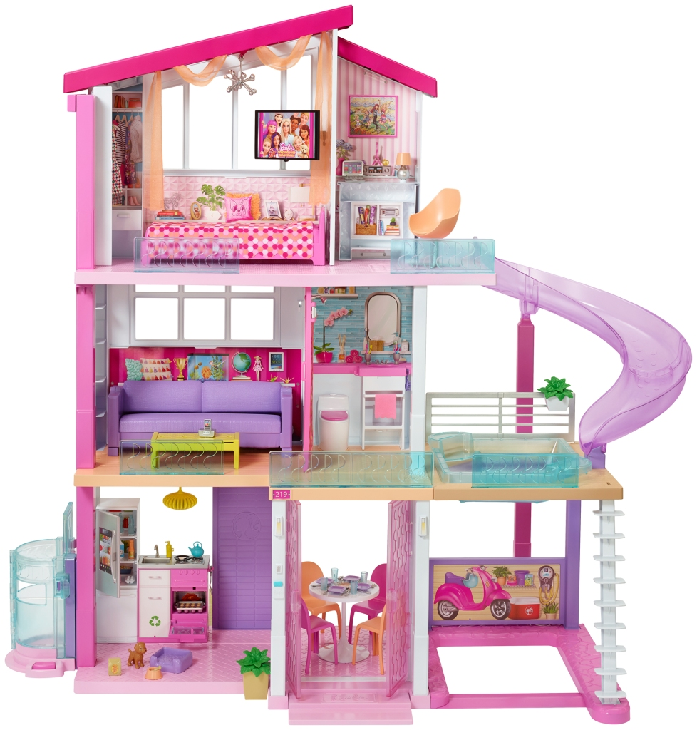 Malibu Barbie Dreamhouse on Airbnb Actual Original Playhouse