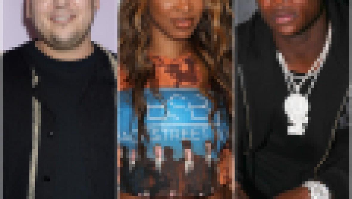 Rob Kardashian, Malika Haqq, O.T. Genasis