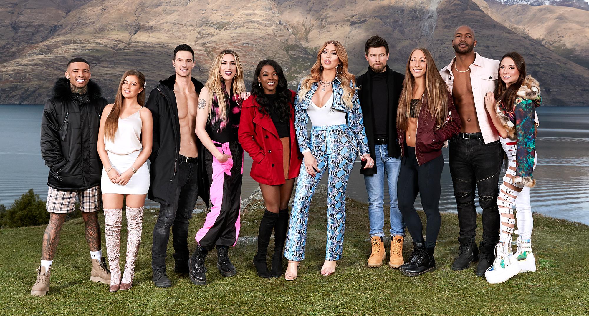 Blue Water High Cast meet the 'ex on the beach: peak of love' mtv cast: see photos