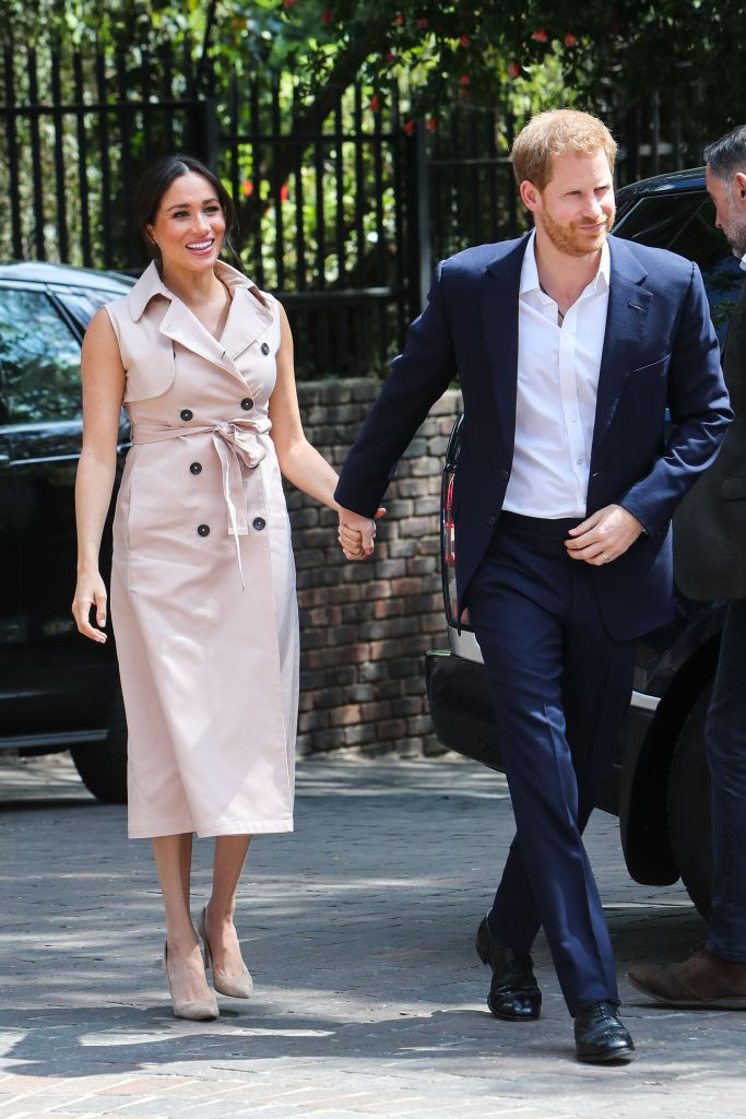 Meghan Markle and Prince Harry During Royal Tour