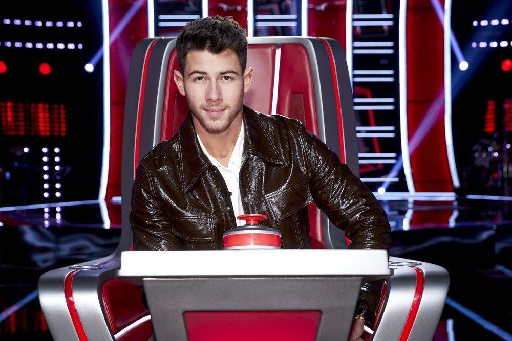 Nick Jonas The Voice - Season 20