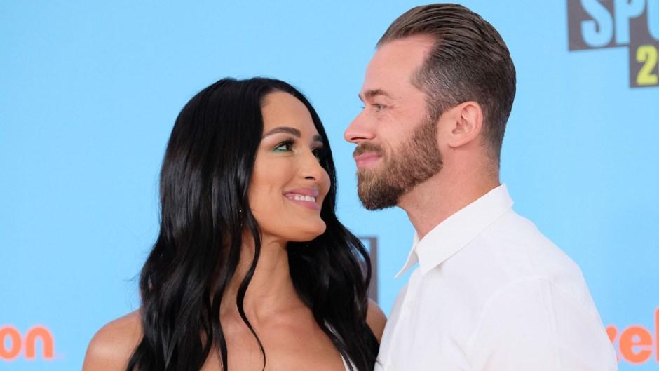 Nikki Bella Smiles Affectionately at Boyfriend Artem Chigvintsev, Nikki Bella Gushes Over How Boyfriend Artem Chigvintsev Supports Her