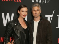 Odette and David Annable on the Red Carpet