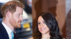 Prince Harry and Meghan Markle at the WellChild Awards