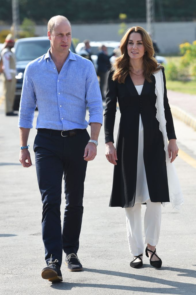 Prince William and Catherine Duchess of Cambridge visit to Pakistan