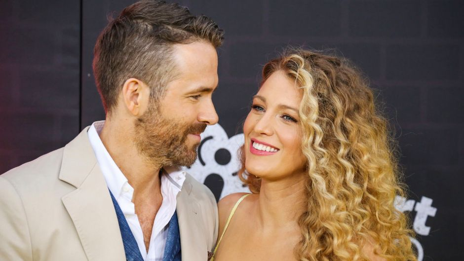 Ryan Reynolds and Blake Lively at the 'Pokemon Detective Pikachu' film premiere