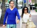 Scott Disick and Kourtney Kardashian out and About in 2010
