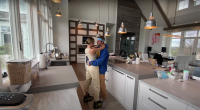 Justin Bieber and Hailey Baldwin Dance in the Kitchen of Their Home