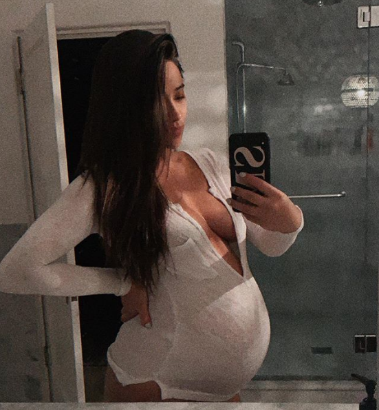 Shay Mitchell's Baby Bump