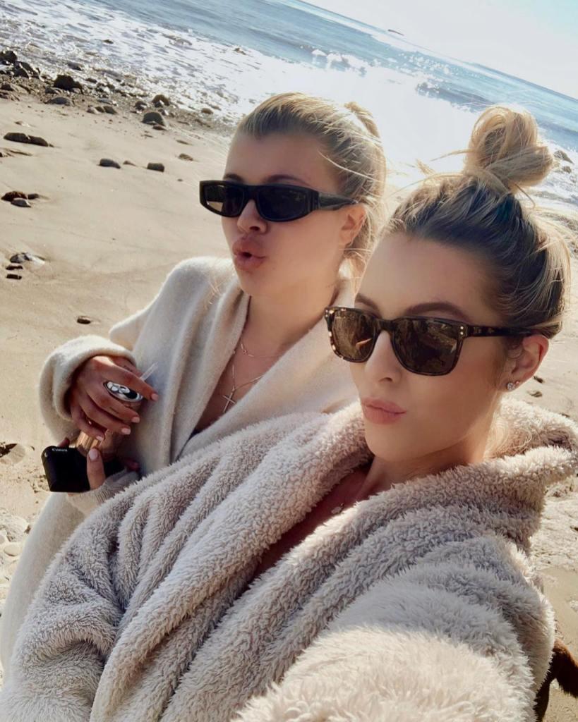 Sofia Richie's best friend Hayley Carling